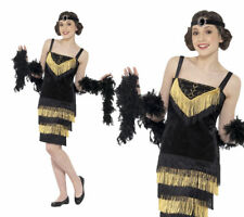 Flapper Girl Costume Girls 1920s Fancy Dress Outfit 20s Flapper XS,S