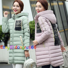 Hot Thick Winter Women Coat Down Parkas Hooded Jacket Fashion Cotton Outerwear