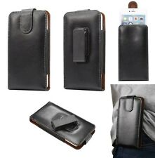 Genuine Leather 360°Rotating Swing Waist Case Holster For iPhone 6/6s/6s/7 Plus