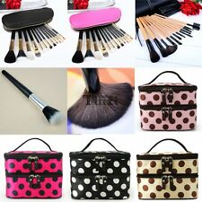 12pcs Professional Makeup Cosmetic Brush Set Tool Kit/ Makeup Hand Bag Case TXCL