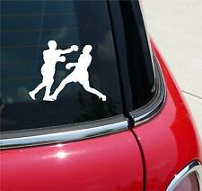 BOXERS BOXING BOXER GRAPHIC DECAL STICKER ART CAR WALL DECOR