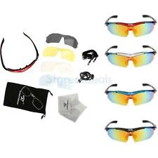 Polarized Cycling Sunglasses Outdoor Sports Bicycle Glasses with Frame 4 Colors