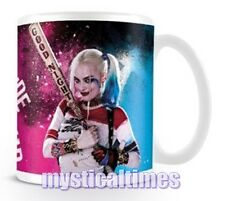 NEW * HARLEY QUINN * SUICIDE SQUAD CUP MUG BOXED FREE POST MG23981