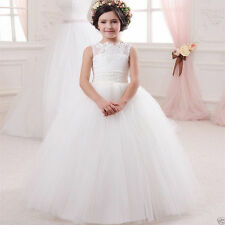 Flower Girl Dresses for Wedding Birthday Communion Prom Ball Gown Pageant Party