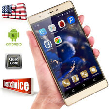 "5"" Android 5.1 T-Mobile AT&T Quad Core Dual SIM Cell Smart Phone Unlocked"