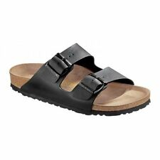 Birkenstock ARIZONA Unisex Ladies Mens Birko-Flor Slip On Comfort Summer Black