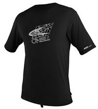 O'Neill Men's Rashguard Rash Tee Short Sleeve Loose Fit 50+ UV Protection