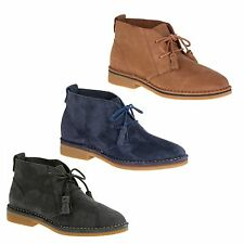 Hush Puppies CYRA CATELYN Ladies Womens Suede Leather Comfort Ankle Desert Boots