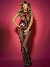 Bodystocking Catsuit 34-44 Sexy Lingerie Lingerie G308 Obsessive