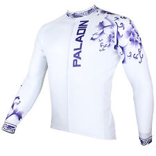 New Men Long Sleeve Cycling Jersey Bike Bicycle Sportwear Apparel Outdoor CX07