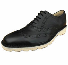 Penguin Original Men's Westchester Leather Brogue Casual Shoes Black