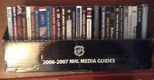 28 Different 2006-07 NHL Media Guides Hawks Pens Canucks Wild $5.00 Each