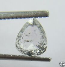 0.73Cts Natural Real Pear Shape White Rose Cut Diamond 7.11x5.80x2.24 MM