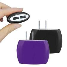 2A Dual USB Ports Home Wall Travel AC Power Charger Adapter For iPhone 6S 5S US
