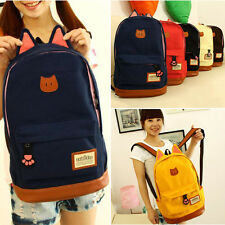 Cute Women Backpack Girl School Fashion Shoulder Bag Rucksack Canvas Travel bags