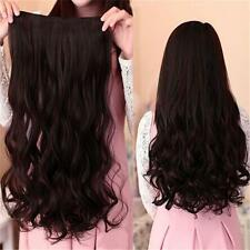 Charming Lady Head Clip Curly/Wavy Clip In Synthetic Hair Extension Accessory Q