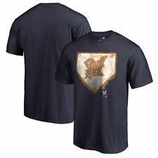 Milwaukee Brewers Home Plate Collection T-Shirt - Navy - MLB
