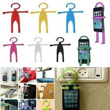 Cute Flexible Silicon Cell Phone Holder Car Home Mobile Hanger Mount for Phone A