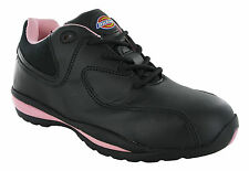 Dickies Ohio Steel Toe Cap Safety Industrial Lightweight Womens Trainers Shoes