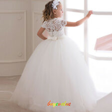 Flower Girl Dress Wedding Birthday Communion Prom BallGown Pageant Party Prom