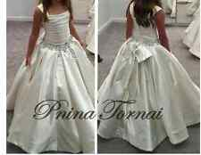 Flower Girl Dresses Wedding SchoolParty Princess Prom Pageant Satin new fluffy
