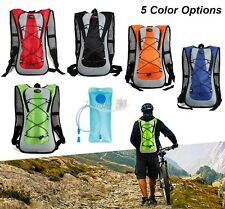 Hydration 2L Water Bag Pack Backpack Rucksack Cycling Hiking Bladder Outdoor 2L