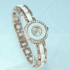 Fashion Women Ladies Watches Luxury Dress Crystal Casual Quartz Wristwatch O90