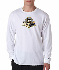 Purdue Boilermakers Champion LONG SLEEVE T-Shirt Tagless T Shirt Mens Adult Tee