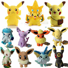 Rare Pokemon Go Pikachu Plush Soft Toy Eevee Stuffed Doll Collectible Pokedolls