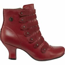 Hush Puppies Tiffin Verona Red Womens Boots