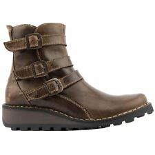 Fly London Myso Rug Olive Womens Boots