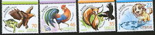 SERBIA-MNH**  SET-FABLES, CHILDREN STAMPS-FAUNA-BIRDS-EAGLE-DOG-ROOSTER-2014.