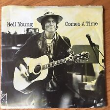 """Neil Young - Comes A Time / Motorcycle Mama 45 rpm 7"""" vinyl RPS1395 EX"""