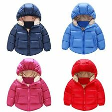 Toddler Baby Boys/Girls outerwear Hooded coats Winter Jacket Kids Baby Clothes