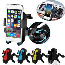 Universal Car Air Vent 360° Mount Cradle Holder Stand for Mobile Smart Phone GPS