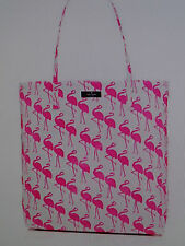 NWT Kate Spade Daycation Bon Shopper Flamingo Tote In Cream & Pink WKRU3238