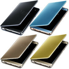 Original Clear S View Flip Cover Genuine Case for Samsung Galaxy Note 7 N930F