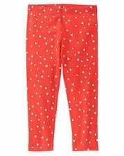 NWT Gymboree Girls Valentines Red Mini Heart Leggings Size 18-24 M 2T 3T 4T 5T