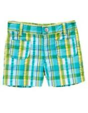 NWT Gymboree Sea Splash Plaid Shorts Size 3 & 4