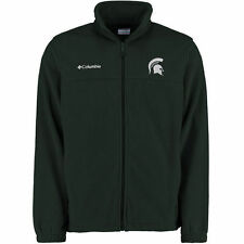 Michigan State Spartans Columbia Flanker II Full Zip Jacket - Green