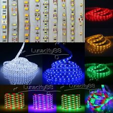 5M LED Flexible Strip Light 3528 3014 5050 5630 SMD Non-Waterproof 12V XMAS Lamp
