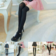 Fashion Sexy Women Girl Mock Knee High Hosiery Thin Pantyhose Tights Stockings