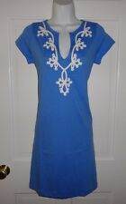 NWT LILLY PULITZER BAY BLUE BREWSTER DRESS M L XL