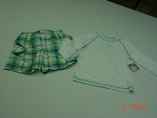 NWT Infant Toddler Boys Op Bathing Suit Swim Beach 2 piece set Rashguard Top