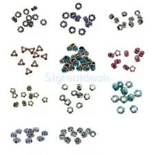 10Pcs charm european silver plated dangle charms bead Fit bracelet jewerly diy