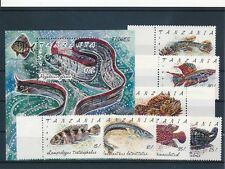 [69124] Tanzania 1991 Fishes good very fine MNH sheet+ set of stamps