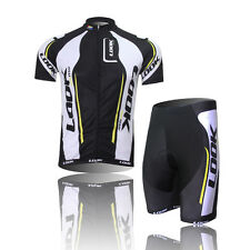 Mens Cyclist Apparel Bike Cycling Clothing Bicycle Jersey Bib Shorts Sleeve
