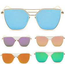 Women's UV400 Retro Metal Frame Aviator Mens Sunglasses Eye Glasses Eyewear