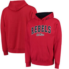 Ole Miss Rebels Arch & Logo Pullover Hoodie - Red - College