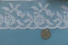 ~ GORGEOUS DOLL HEIRLOOM SEWING SMOCKING FRENCH Val LACE WHITE WIDE OOP & VTG ~